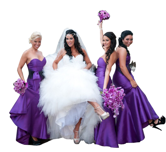 Bridal Package – $225  (All 3 must be used within 60 days)